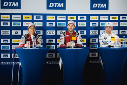 1. René Rast, Audi Sport Team Rosberg, Audi RS 5 DTM; 2. Mike Rockenfeller, Audi Sport Team Phoenix, Audi RS 5 DTM; 3. Marco Wittmann, BMW Team RMG, BMW M4 DTM