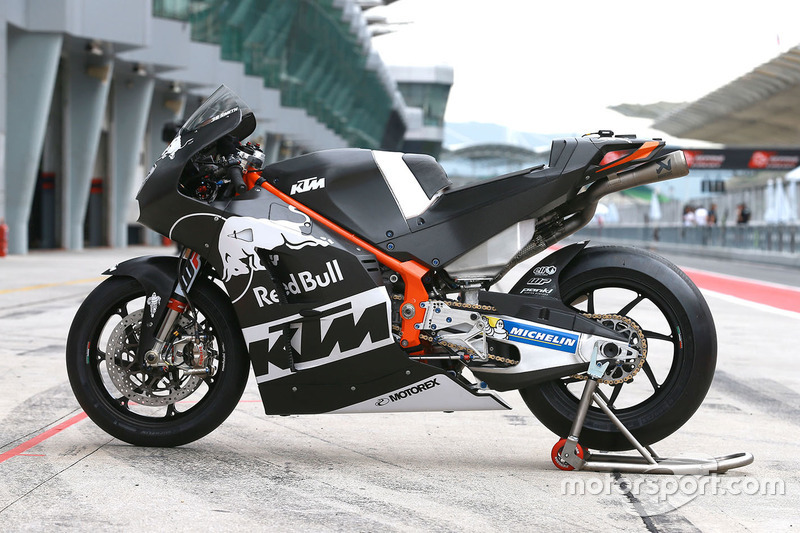 Moto de Bradley Smith, Red Bull KTM Factory Racing
