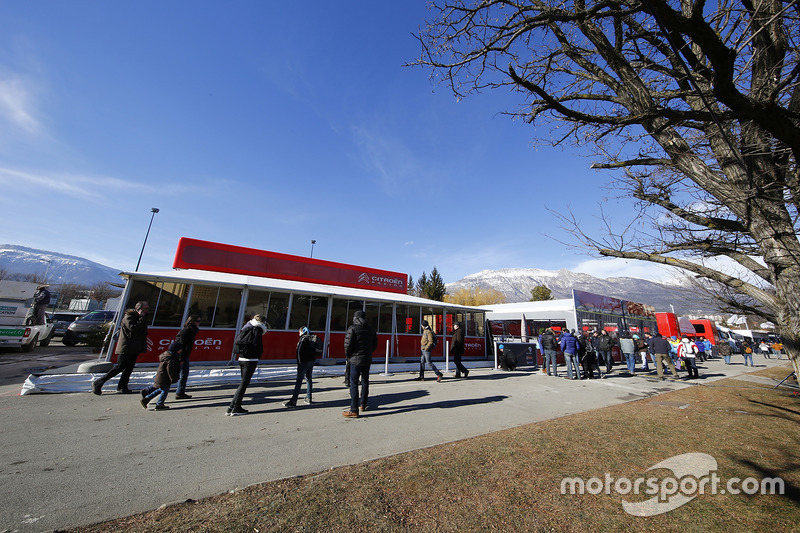 Área del equipo Citroën World Rally Team