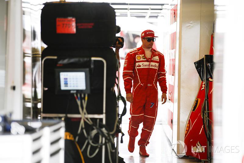 5 місце - Кімі Райкконен, Ferrari