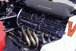 El motor Porsche del Footwork FA12
