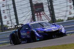 Наоки Ямамото и Дженсон Баттон, Team Kunimitsu, Honda NSX Concept GT (№100)