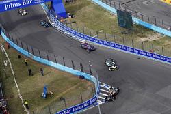 Jean-Eric Vergne, Techeetah, Lucas di Grassi, Audi Sport ABT Schaeffler, Alex Lynn, DS Virgin Racing, Oliver Turvey, NIO Formula E Team