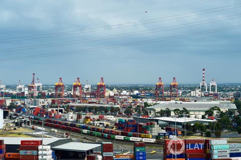 Lo skyline di Melbourne