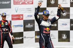 Podium: Sébastien Ogier, M-Sport Ford WRT