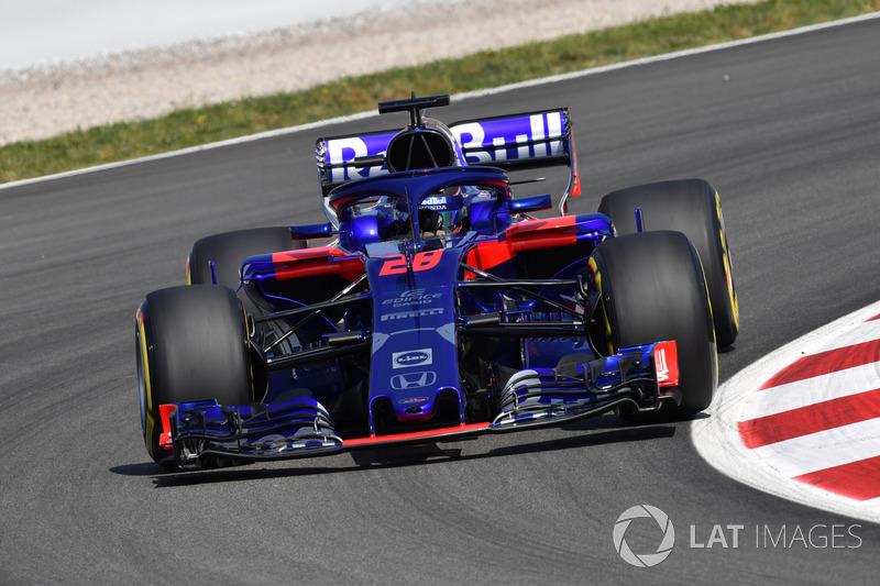 18. Brendon Hartley, Scuderia Toro Rosso STR13