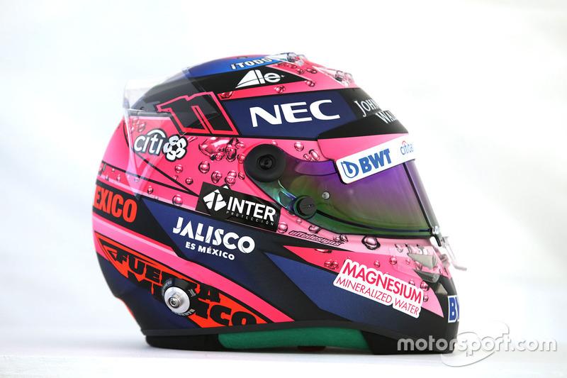 Sergio Perez'in kaskı, Sahara Force India F1