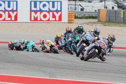 Fabio Di Giannantonio, Del Conca Gresini Racing Moto3, Jorge Martin, Del Conca Gresini Racing Moto3, Dennis Foggia, Sky Racing Team VR46, Aron Canet, Estrella Galicia 0,0