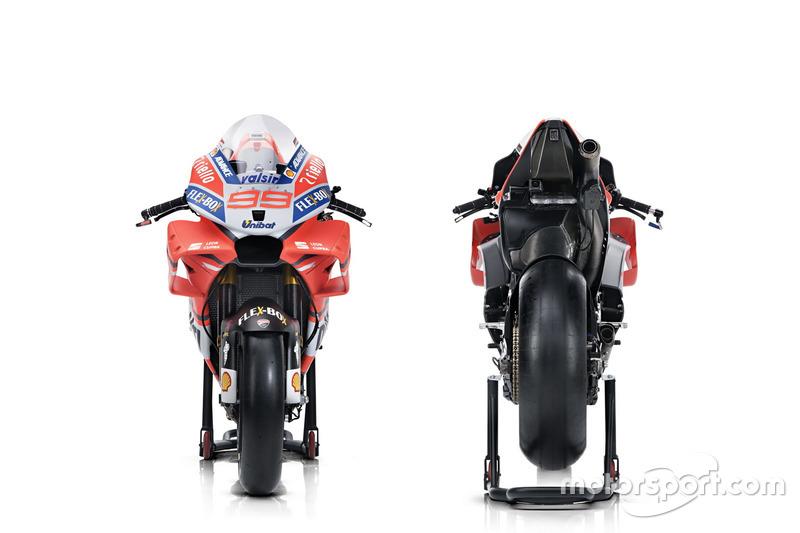Andrea Dovizioso ve Jorge Lorenzo'nun motosikletleri, Ducati Team