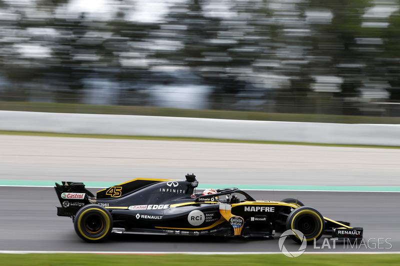 Джек Эйткен, Renault Sport F1 Team RS18