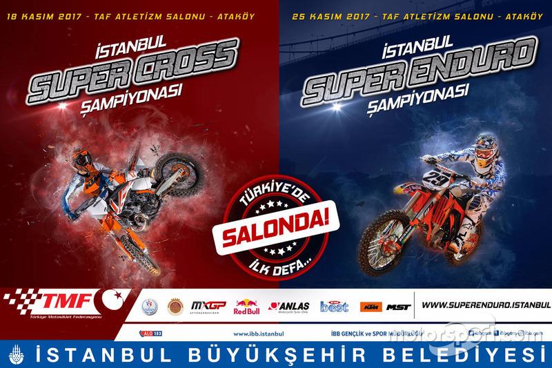 İstanbul Supercross ve Super Enduro tanıtım afişi