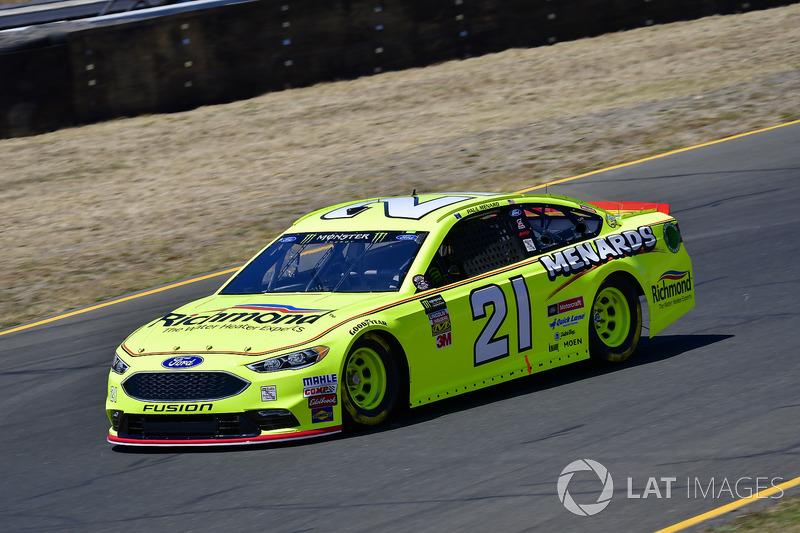 15. Paul Menard, Wood Brothers Racing, Ford Fusion Menards / Richmond