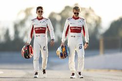 Marcus Ericsson, Charles Leclerc, Sauber