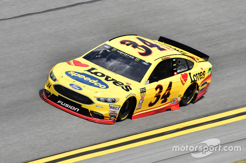 #34: Michael McDowell, Front Row Motorsports, Ford Fusion