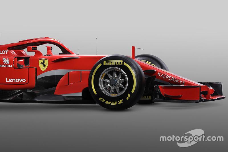 Ferrari SF71H front detail