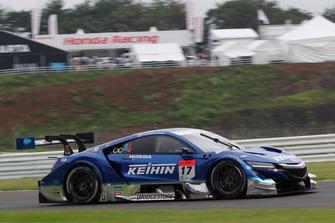 #17 Real Racing Honda NSX Concept-GT: Koudai Tsukakoshi, Takashi Kogure