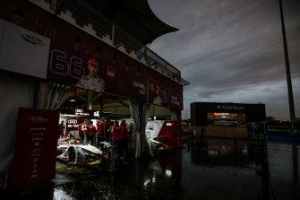 The Audi Sport ABT Schaeffler garages