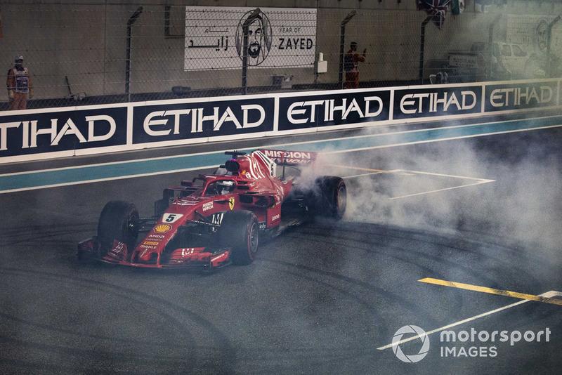 Tweede plaats: Sebastian Vettel, Ferrari SF71H