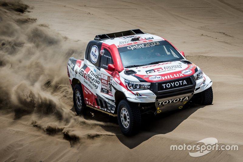 #301 Toyota Gazoo Racing SA: Nasser Al-Attiyah, Matthieu Baumel