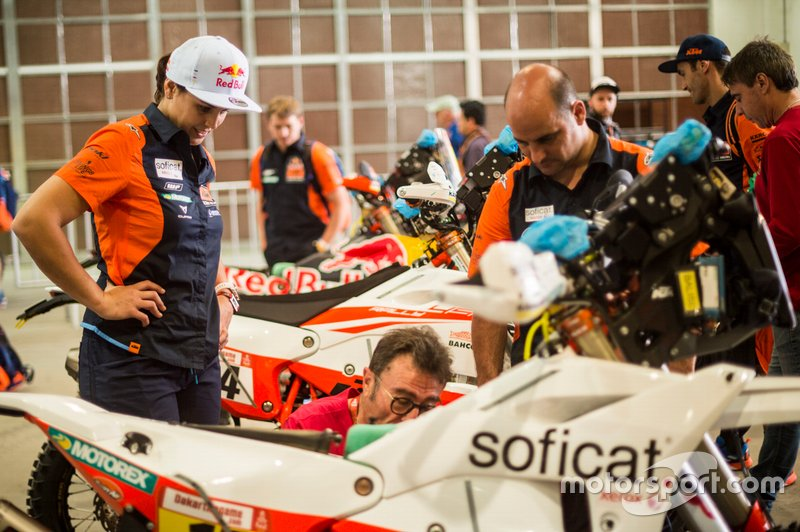 #17 KTM Factory Racing Team: Laia Sanz