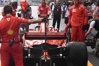 Задня частина Ferrari SF71H