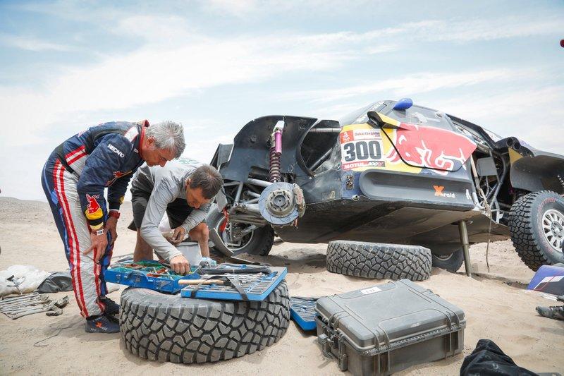 #300 X-Raid Mini JCW Team: Carlos Sainz, dopo l'incidente