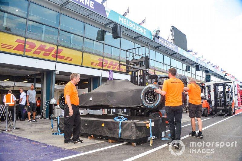 F1 hazırlıkları