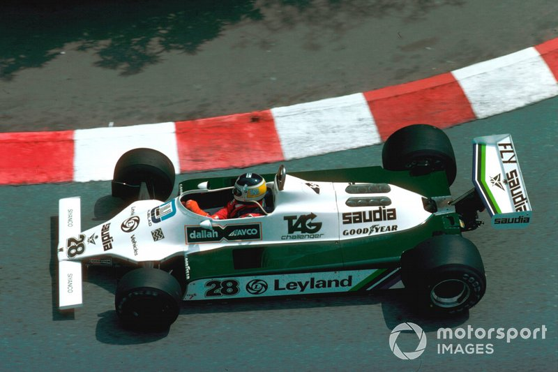 Carlos Reutemann, Williams FW07B Ford. (Foto: LAT Images)