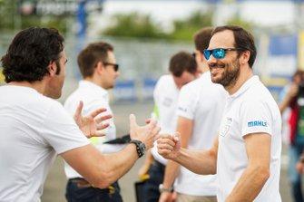Gary Paffett, HWA Racelab avec Dario Franchitti