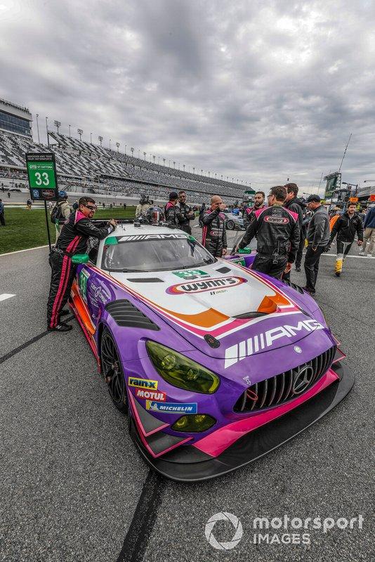 #33 Mercedes-AMG Team Riley Motorsports Mercedes-AMG GT3, GTD: Ben Keating