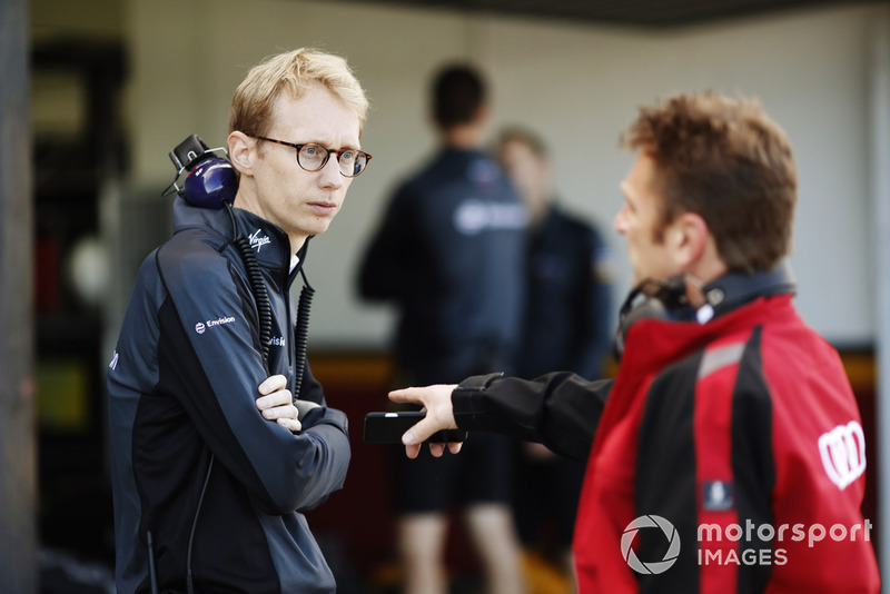 Sylvain Filippi, Virgin Racing, McNish, Audi Sport Abt Schaeffler
