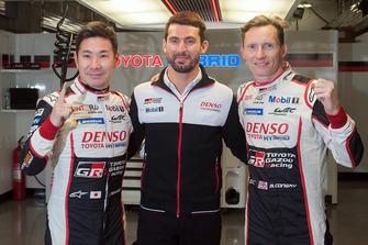 Polesitters #7 Toyota Gazoo Racing Toyota TS050: Mike Conway, Kamui Kobayashi, Jose Maria Lopez