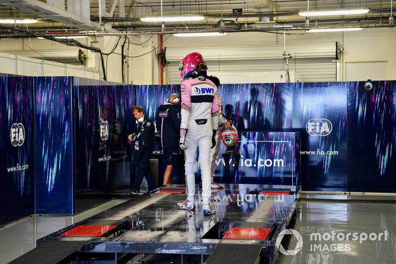 Естебан Окон, Racing Point Force India