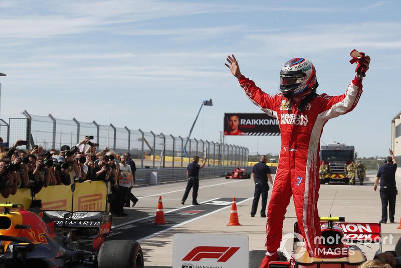 Ganador Kimi Raikkonen, Ferrari SF71H