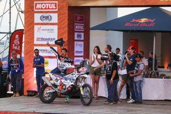 Podium : Klicen Ktm R2r Dakar Rally Team: Zhang Min