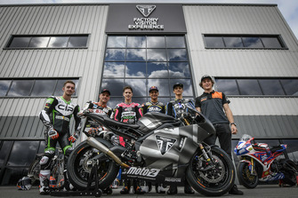 John McPhee, CIP – Green Power, Sam Lowes, Swiss Innovative Investors, Danny Kent, +Ego Speed Up Racing Team, Luca Marini, Sky Racing Team VR46, Isaac Viñales, Forward Racing Team, Bo Bendsneyder, Tech3 Racing Team and Joe Roberts, NTS RW Racing GP Diego Sperani
