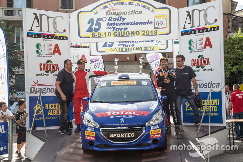 Marco Leonardi, Peugeot 208 R2