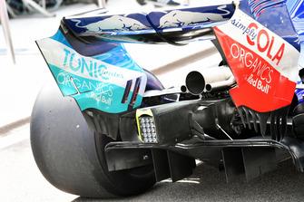 Задняя часть Scuderia Toro Rosso STR13