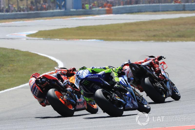 Jorge Lorenzo, Ducati Team, Valentino Rossi, Yamaha Factory Racing, Marc Marquez, Repsol Honda Team