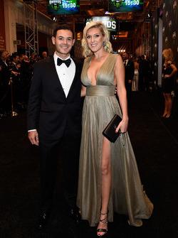 Kyle Larson and his girlfriend Katelynn Sweet