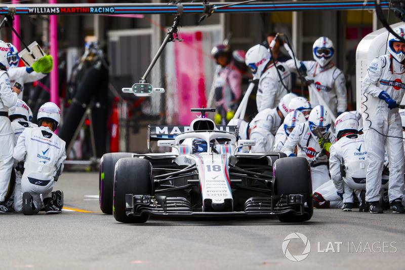 Lance Stroll, Williams FW41 Mercedes,