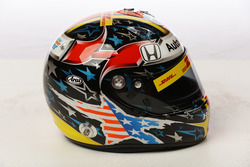 Helm von Ryan Hunter-Reay, Andretti Autosport Honda