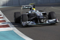 Нико Росберг, Mercedes GP W01