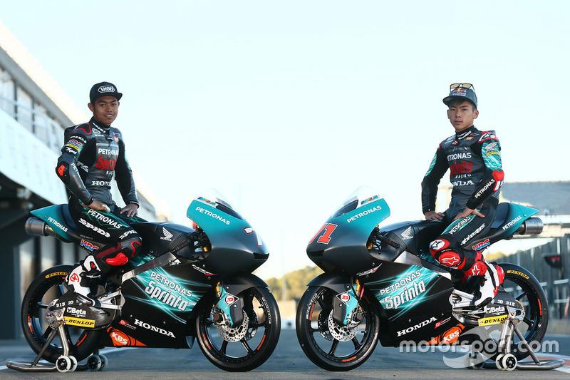 Adam Norrodin, Ayumu Sasaki, Petronas Sprinta Racing