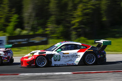 #58 Wright Motorsports Porsche 911 GT3 R, GTD: Patrick Long, Christina Nielsen