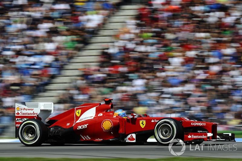 Em 2012, foi mais uma vez vice-campeão com a Ferrari