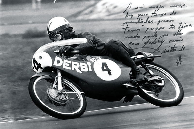 Angel Nieto campeón del mundo 125 cc 1981