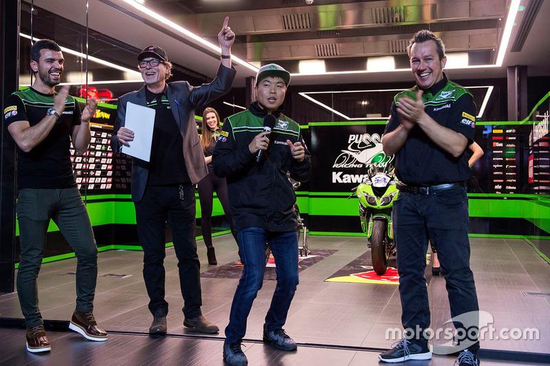 Hikari Okubo, Manuel Puccetti, Kenan Sofuoglu, Kawasaki Puccetti Racing