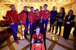 Ferrari Pilot Akademisi antrenmanı
