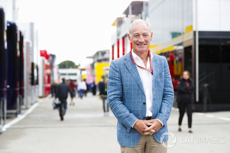 Greg Maffei, Chief Executive Officer, Liberty Media, in the paddock
